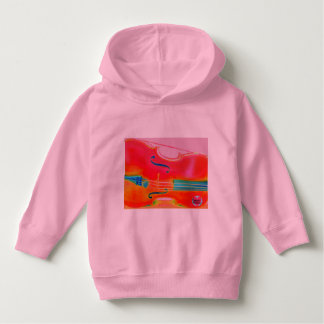 Musical Lifetimes Toddler Red Cello Hoodie Top