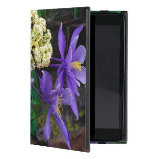 Mutant Columbine Wildflowers Cases For iPad Mini