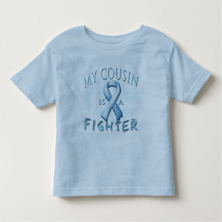 My Cousin is a Fighter Light Blue Tshirt