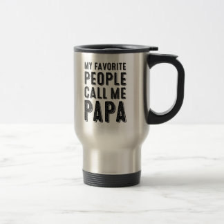 My Favorite People Call Me Papa Mug