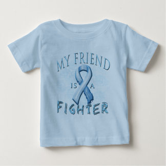 My Friend is a Fighter Light Blue Shirt