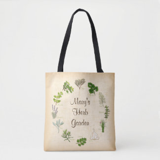 My Herb Garden Tote Bag