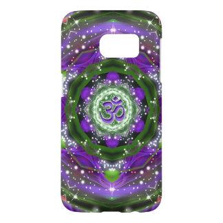 Namaste Purple and Green Mandala Samsung Galaxy S7 Case