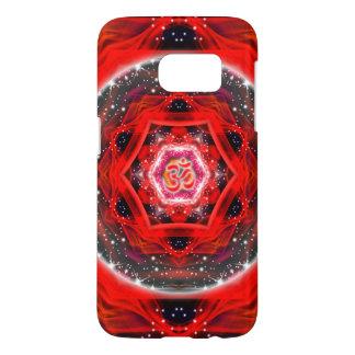 Namaste Red Mandala Samsung Galaxy S7 Case