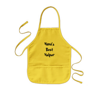 Nana's Best Helper Kids Apron