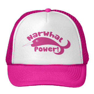Narwhal Power Trucker Hat