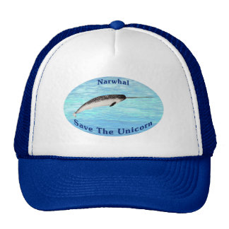Narwhal - Save The Unicorn Trucker Hat