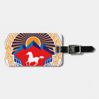 Naryn_coa Travel Bag Tag