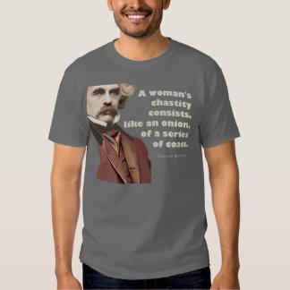 Nathaniel Hawthorne Chastity Shirt