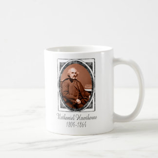 Nathaniel Hawthorne Classic White Coffee Mug