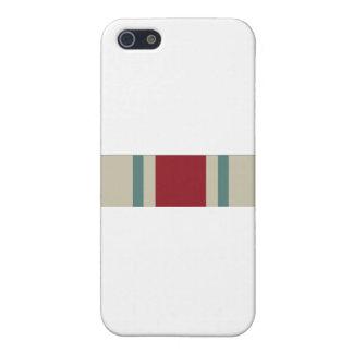 National Guard Reserve Commemorative Ribbon iPhone 5/5S Case