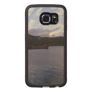 nature and sea wood phone case