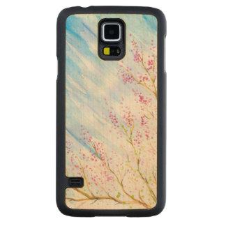 Nature background maple galaxy s5 slim case