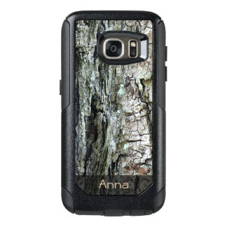 Nature Old Pine Bark Photo any Text OtterBox Samsung Galaxy S7 Case