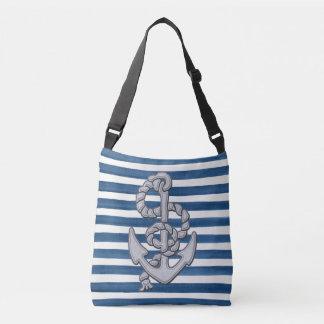 Nautical Sail Away Tote Bag
