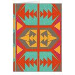 Neo Native Tribal Greeting Card
