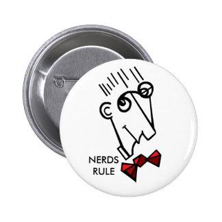 Nerds rule 2 inch round button