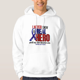 Never Knew A Hero 2 Son (Support Our Troops) Hooded Sweatshirts