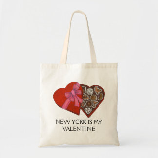 New York Is My Valentine Box of Chocolates NYC Bag