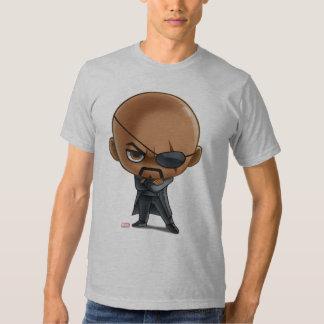 Nick Fury Stylized Art Tee Shirt