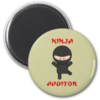 ninja auditor 2 inch round magnet