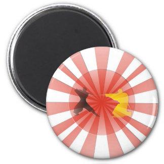 Ninja Dreaming 2 Inch Round Magnet