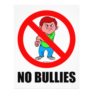 NO BULLIES FLYERS