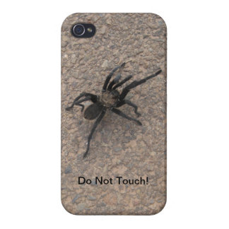 No Touch My Phone! Case For iPhone 4
