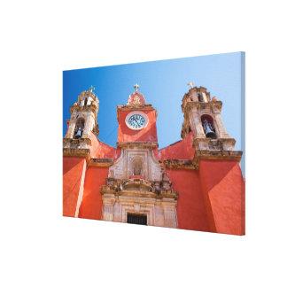 North America, Mexico, Guanajuato. Shrine of Gallery Wrapped Canvas