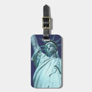 North America, USA, New York, New York City. 7 Luggage Tag