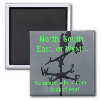 North, South, East, or West Magnet