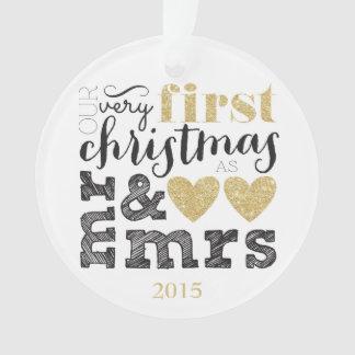 Notre tout premier Noël comme M. et Mme Gold