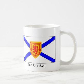 Nova Scotia Tea Drinker Classic White Coffee Mug