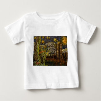 NYC Starry Night: Twin Towers (The True Towers) Tshirt
