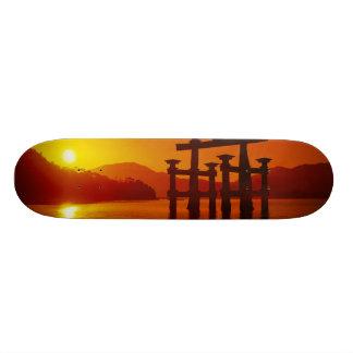 O-Torii Gate, Itsukushima shrine, Miyajima, Custom Skateboard