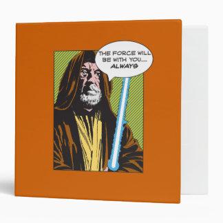Obi-Wan Kenobi Comic 3 Ring Binders
