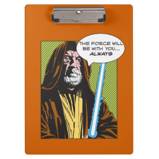 Obi-Wan Kenobi Comic Clipboards