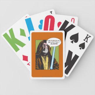 Obi-Wan Kenobi Comic Poker Cards