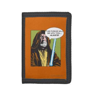 Obi-Wan Kenobi Comic Tri-fold Wallets