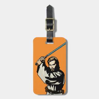Obi-Wan Kenobi Icon Bag Tags