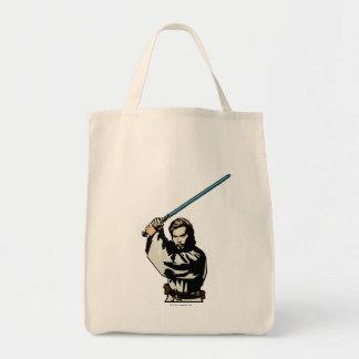 Obi-Wan Kenobi Icon Grocery Tote Bag