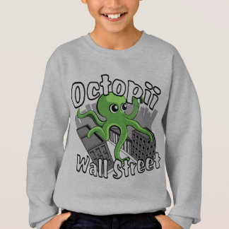 Octopii Wall Street - Occupy Wall St! Tee Shirts