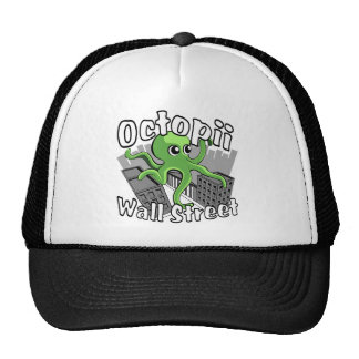 Octopii Wall Street - Occupy Wall St! Trucker Hat