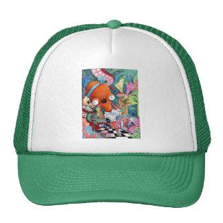 Octopus Waitress in Underwater Road Bar Trucker Hat