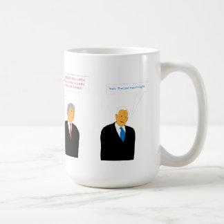 Office Politics Classic White Coffee Mug