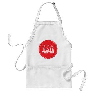 Official Taste Tester Standard Apron