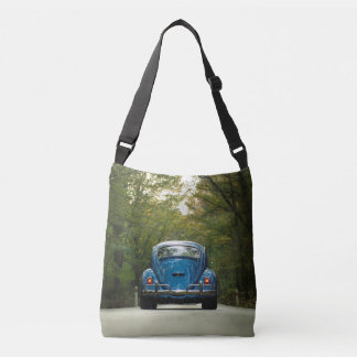 Old Car Blue Bug Photo All Over Tote