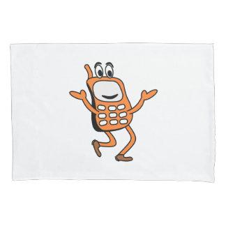 Old mobile cartoon pillowcase