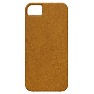 Orange suede case for the iPhone 5