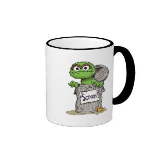 Oscar the Grouch Scram Ringer Coffee Mug